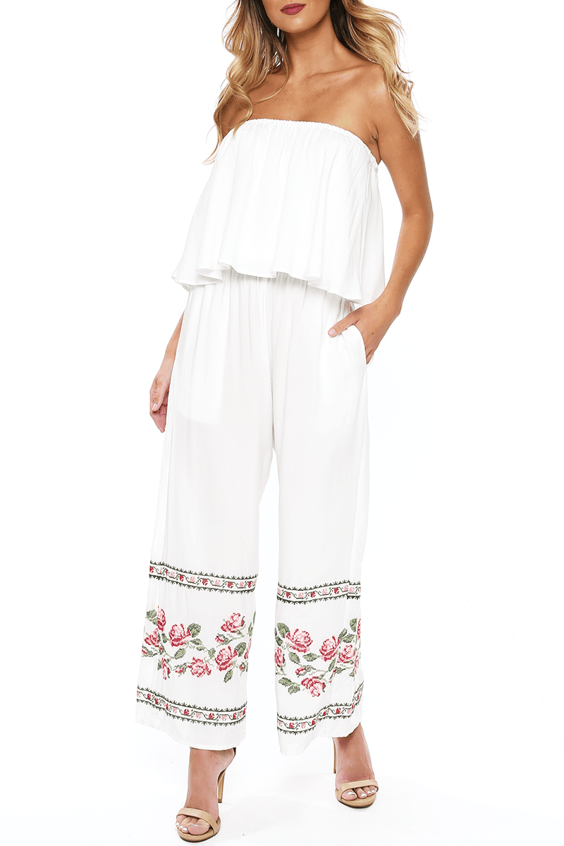 Kohala Jumper - Rose Garden - Shore