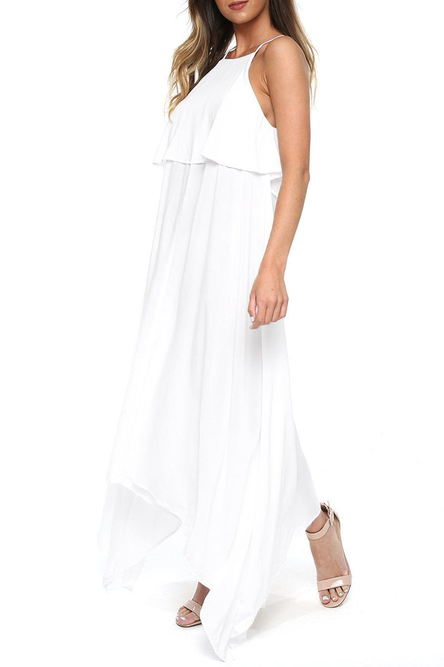 Maui Swing Dress - White - Shore