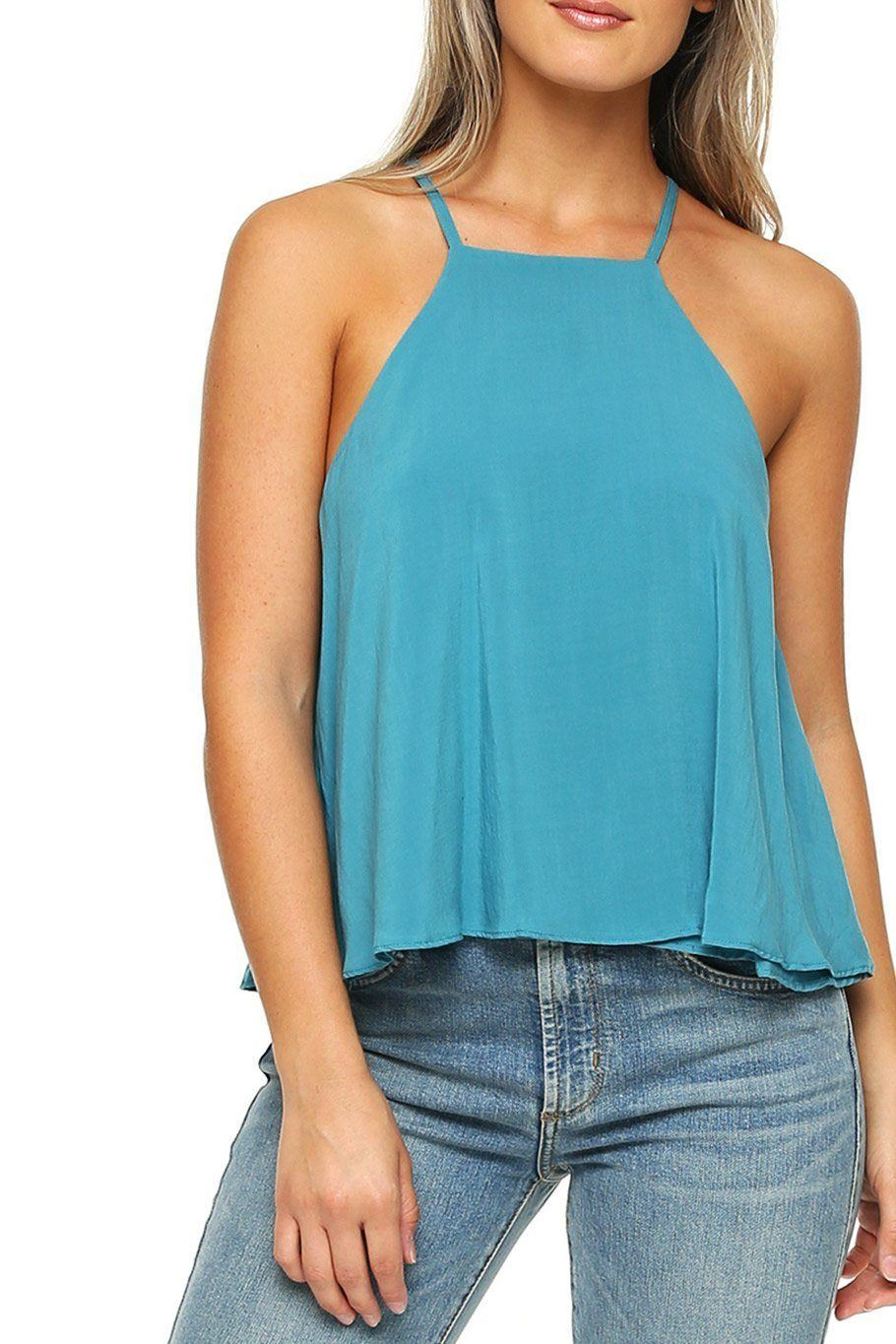 Maui Swing Top - Teal - Shore