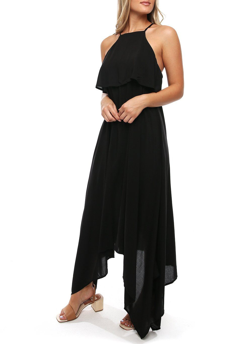 Maui Swing Dress - Black - Shore