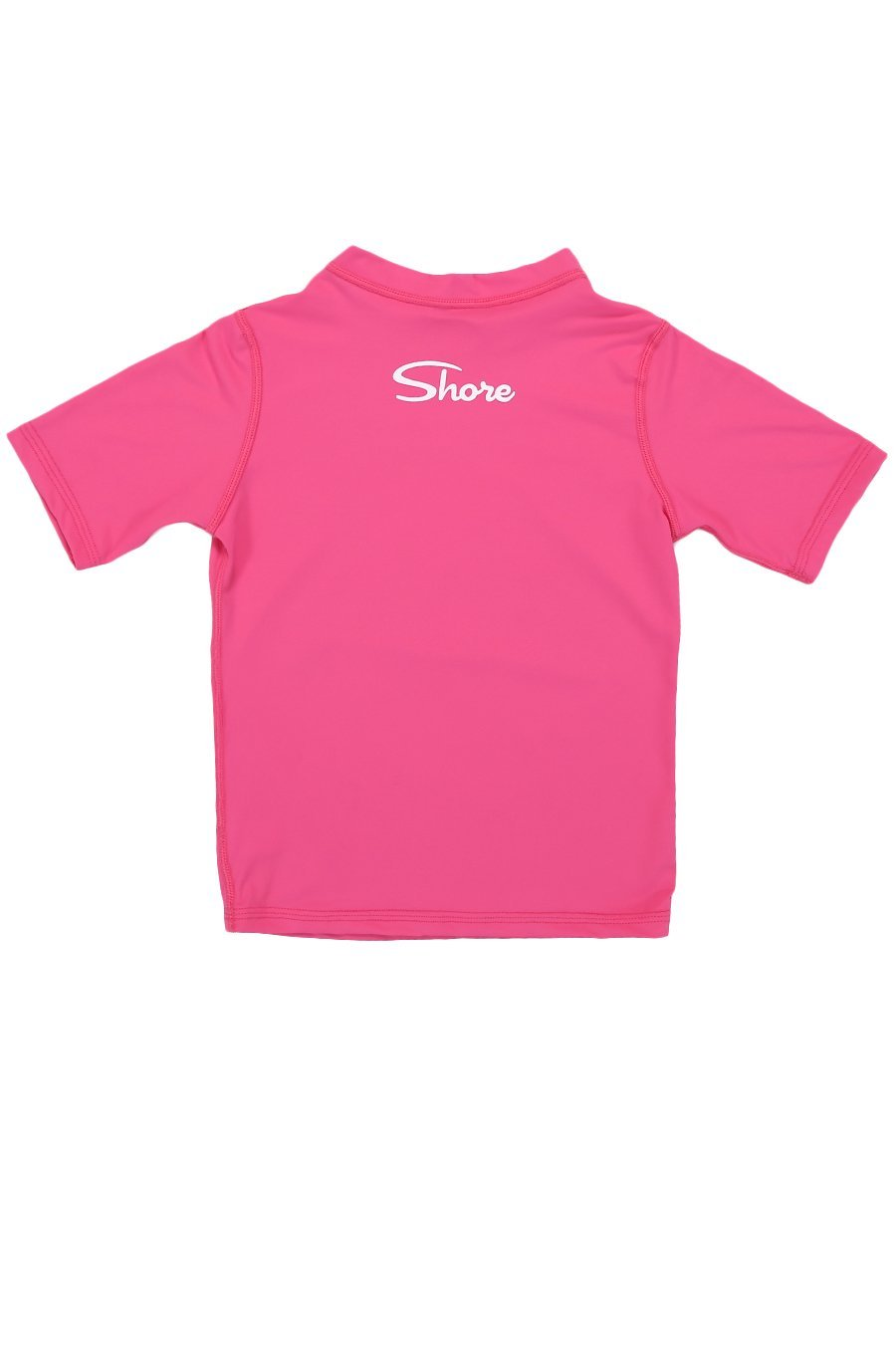 Kids Mermaid S/S Rashguard - Fuchsia - Shore