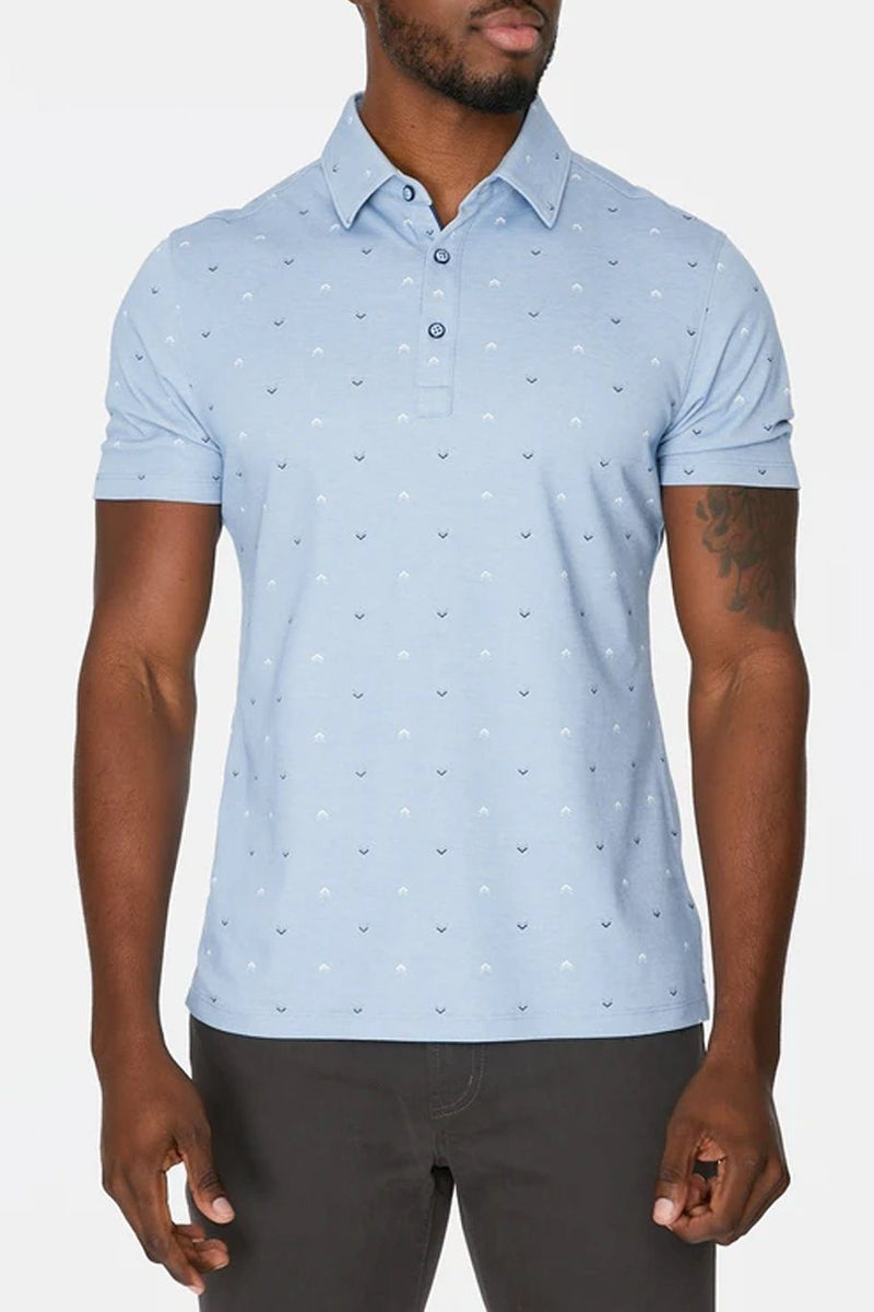 Dalton Polo - Light Blue - Shore