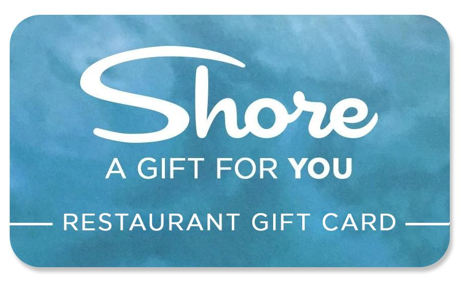 Restaurant Shore Gift Card