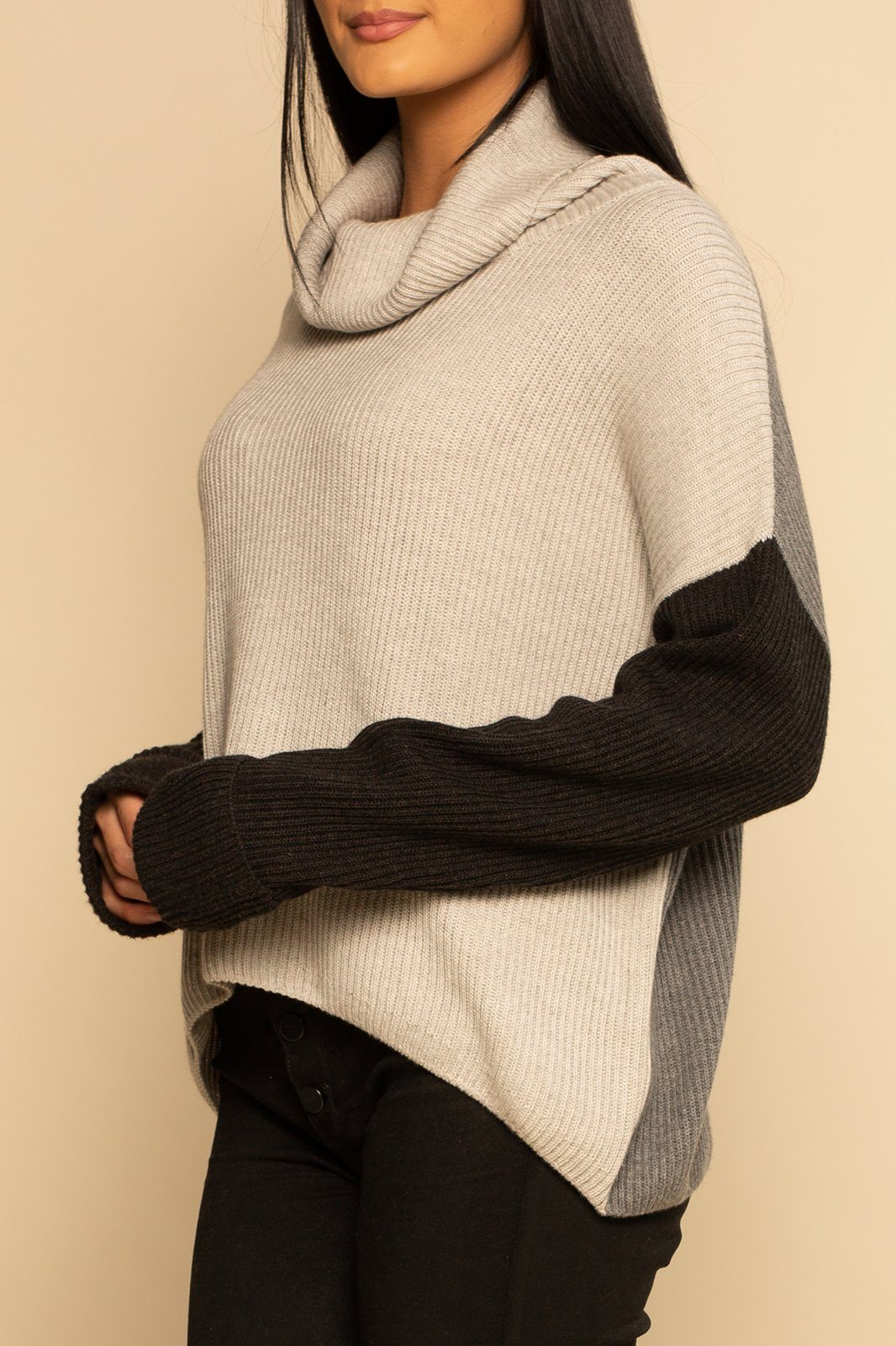 Vermont Sweater - Lather/Grey - Shore