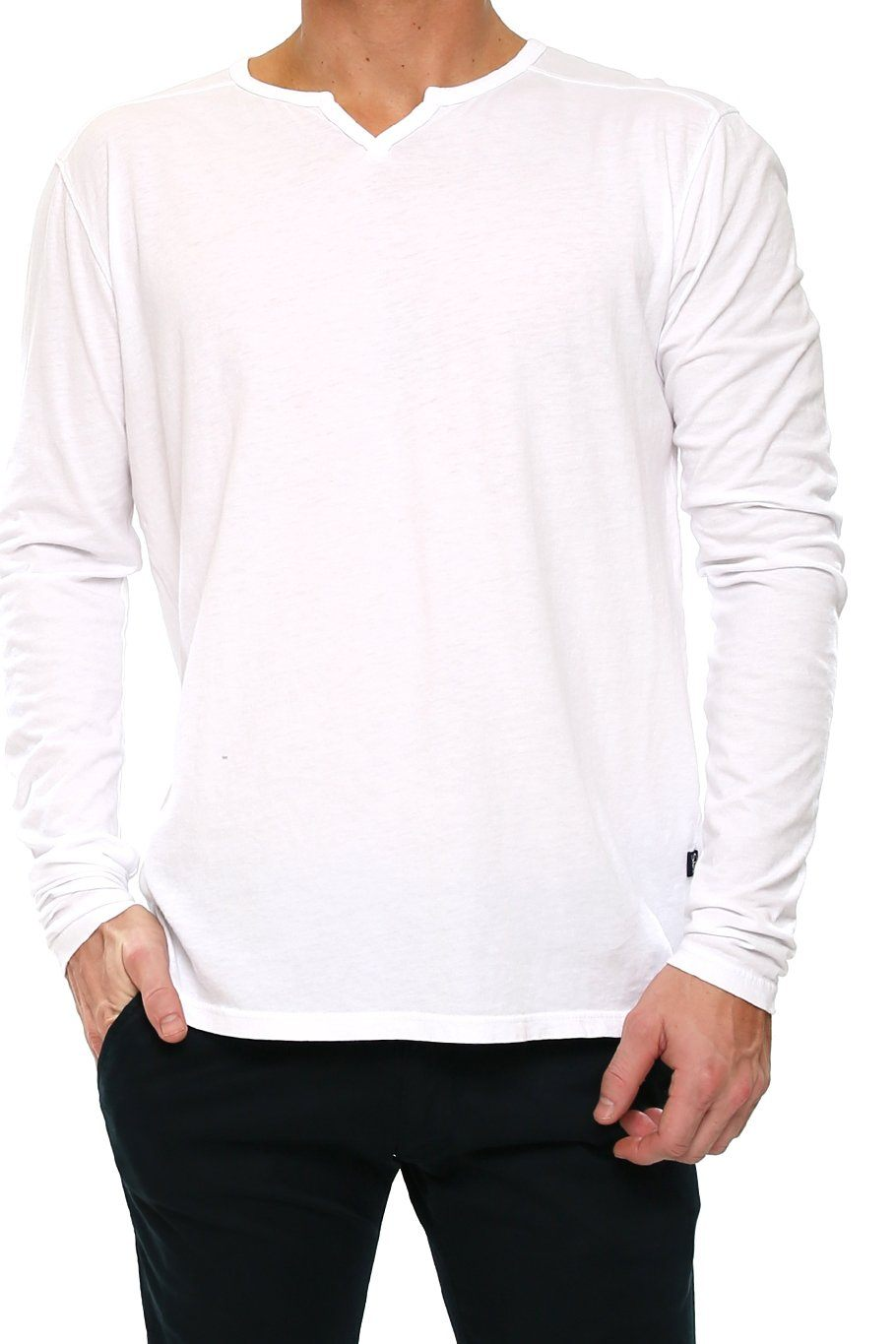 Sacramento Long Sleeve - White - Shore