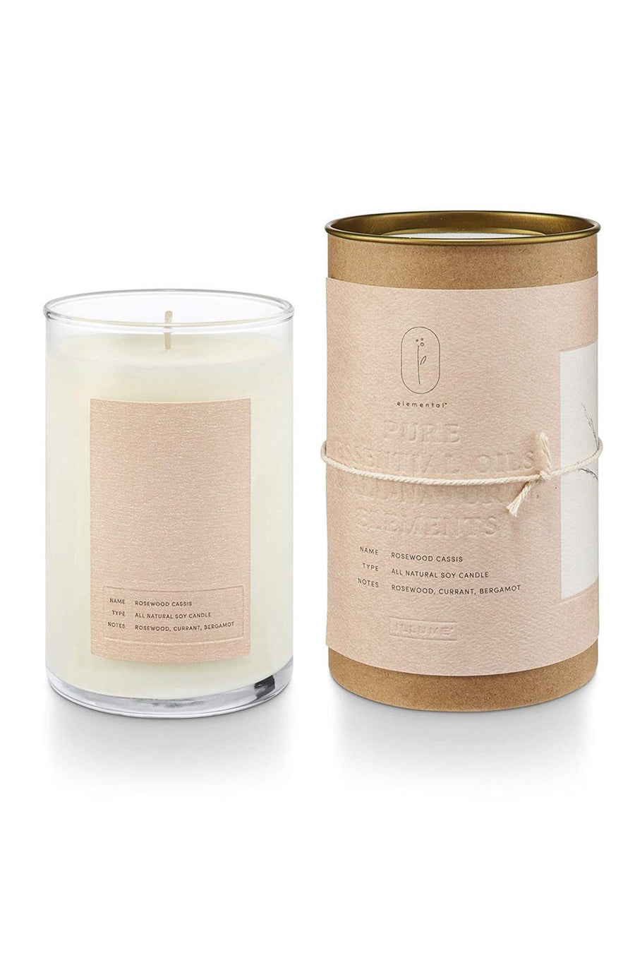Illume Rosewood Soy Candle - Shore