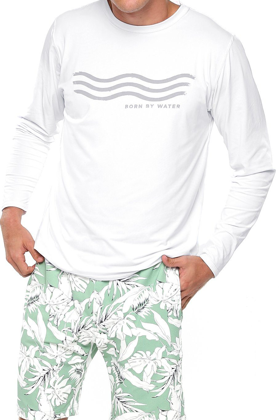 Long Sleeve Rashguard - Born By Water - Shore
