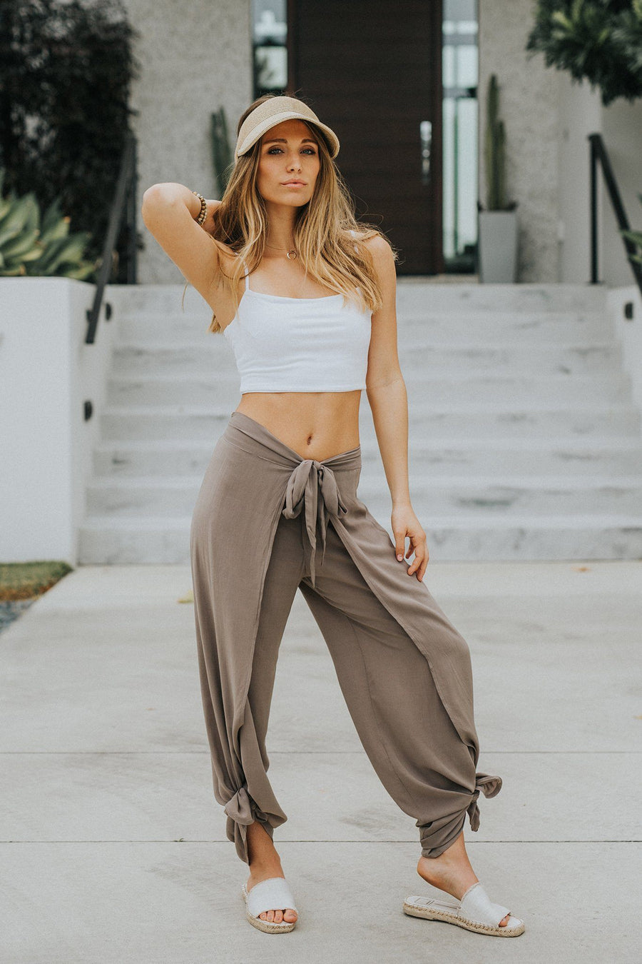 Bella Beach Pant - Sand - Shore