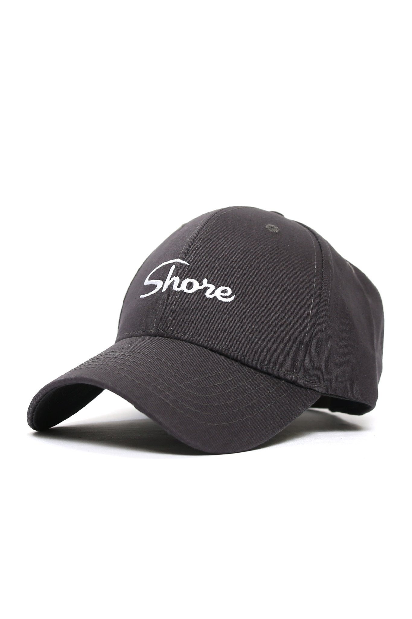 Shore Logo Cap - Charcoal - Shore