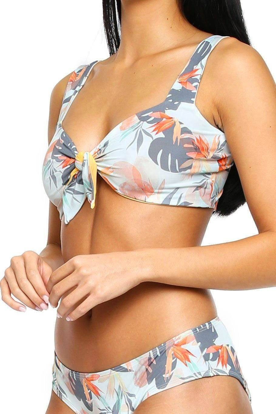 Siesta Reversible Top - Paradise - Shore