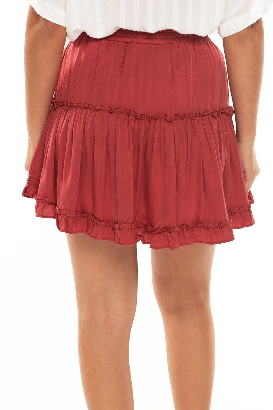 Shoreside Skort - Clay Red - Shore