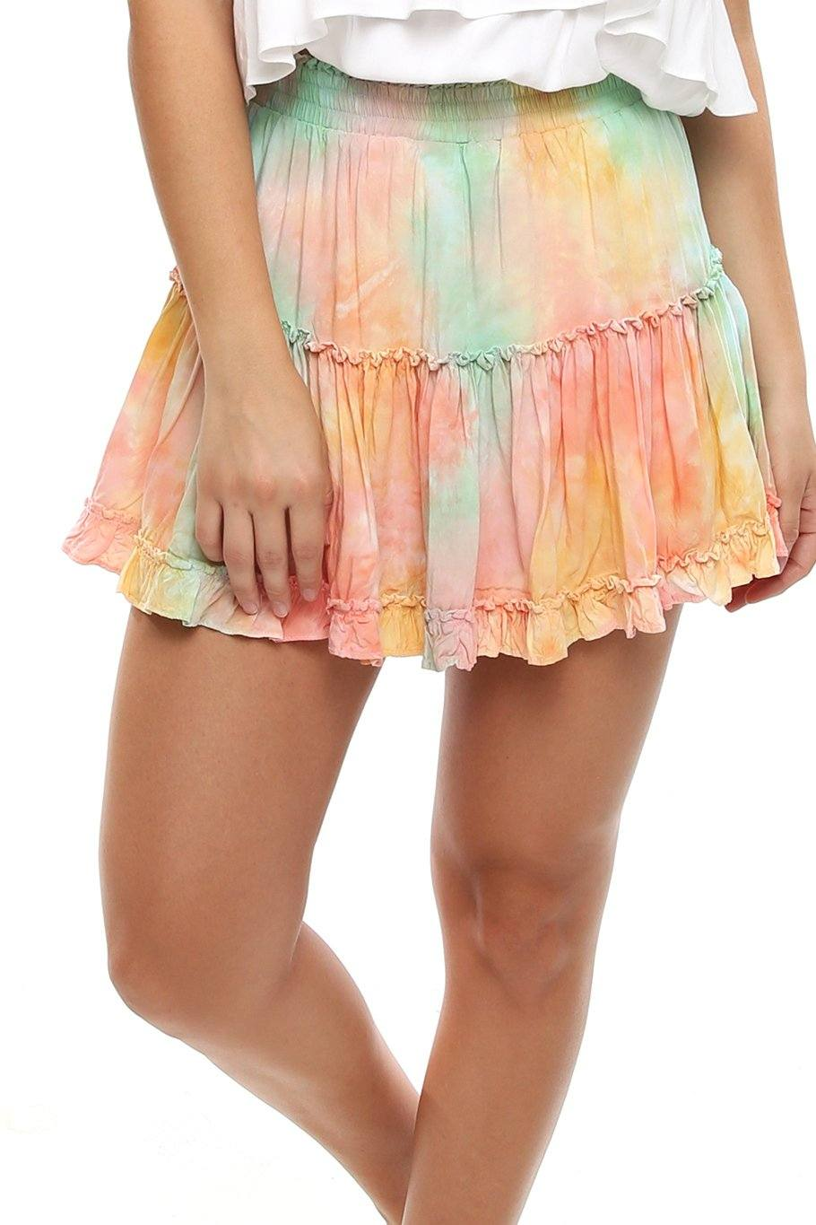 Shoreside Skort - Sunset Dye