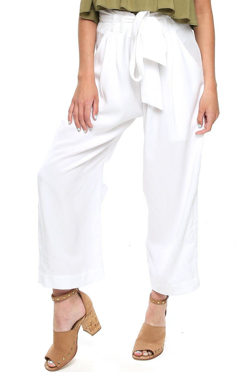 St. Barts Trouser - White - Shore