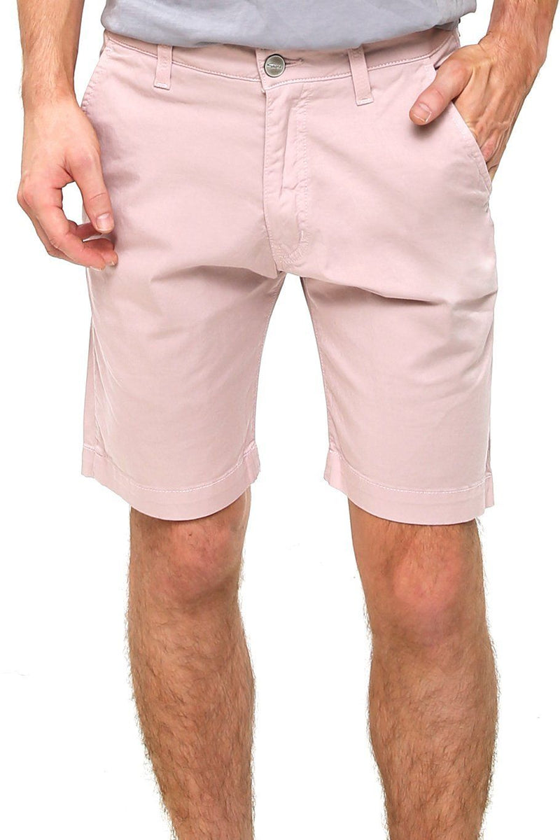 "Liam 9"" Flat Front Short - Light Pink - Shore"