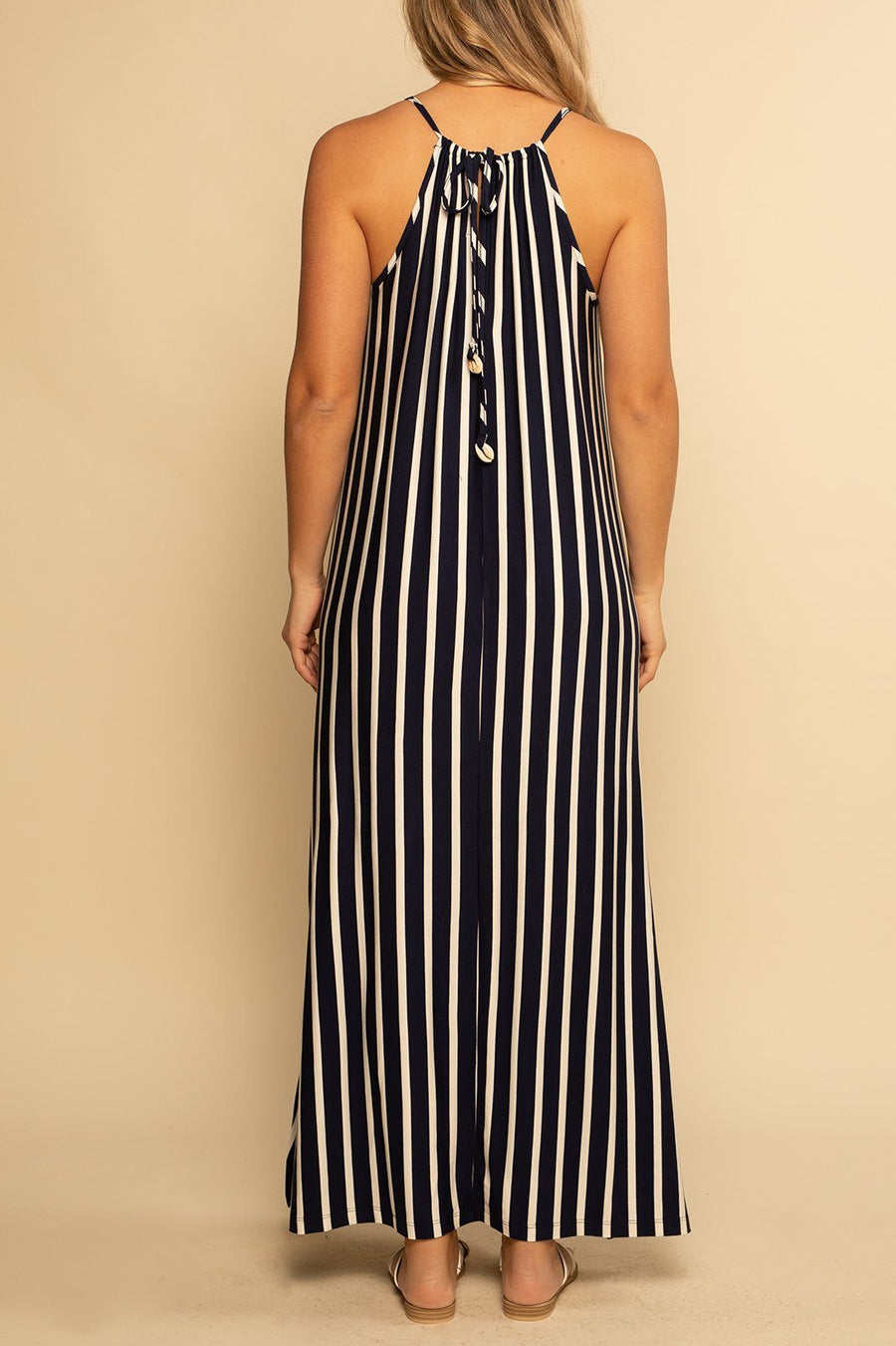 Marbella Maxi - Navy Stripes - Shore