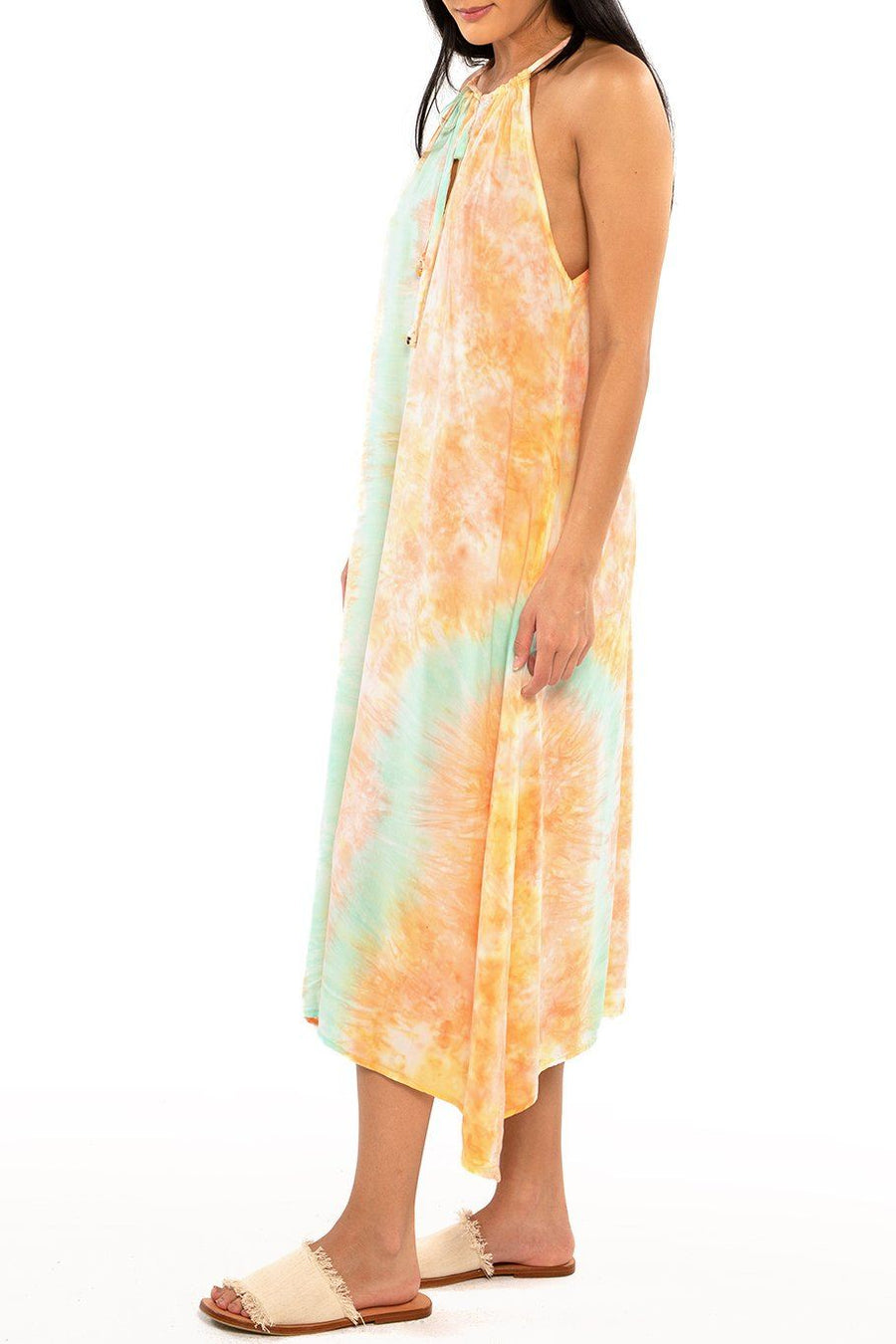 Tahiti Tie Dress - Sunset Dye - Shore