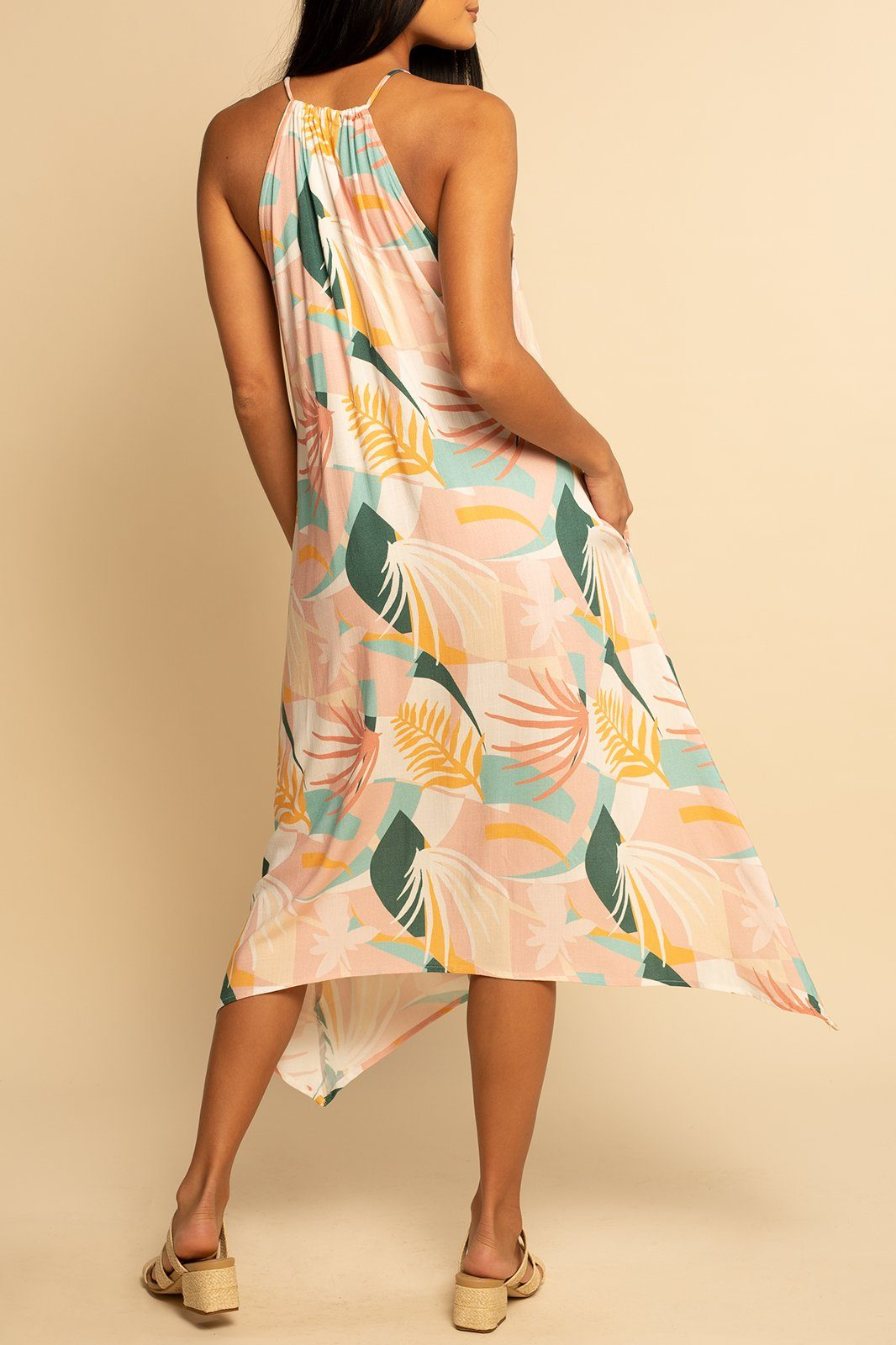 Tahiti Tie Dress - Palm Beach - Shore