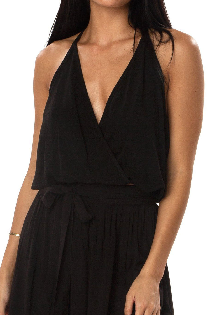 T-Back Top - Black - Shore