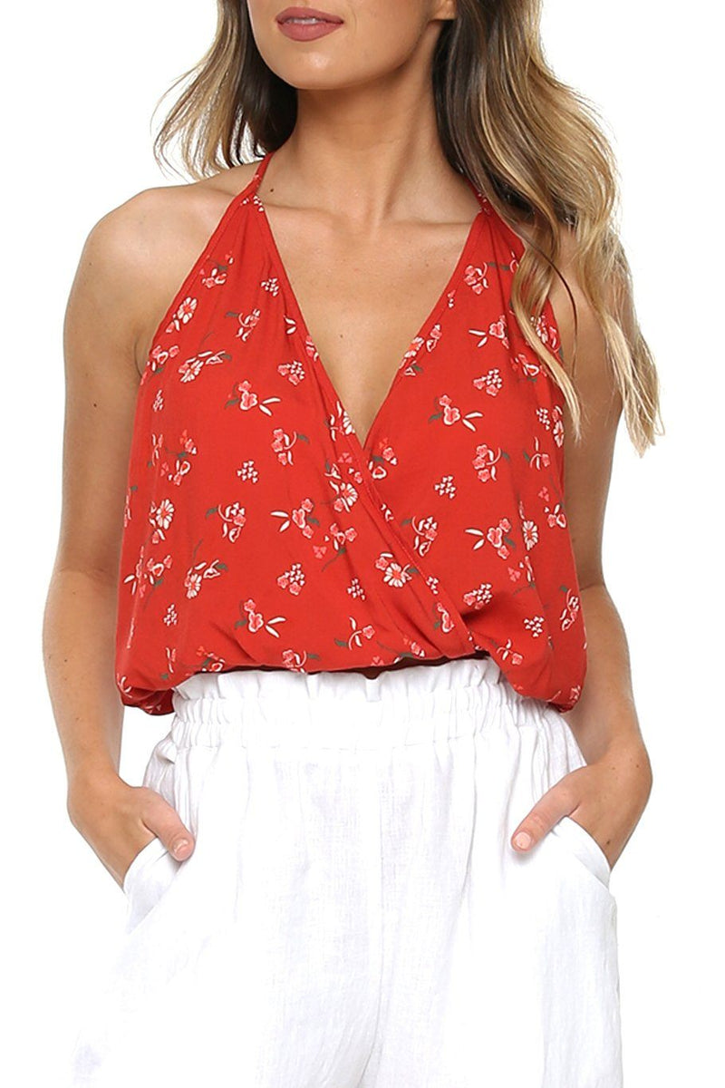 T-Back Top - Desert Flower - Shore