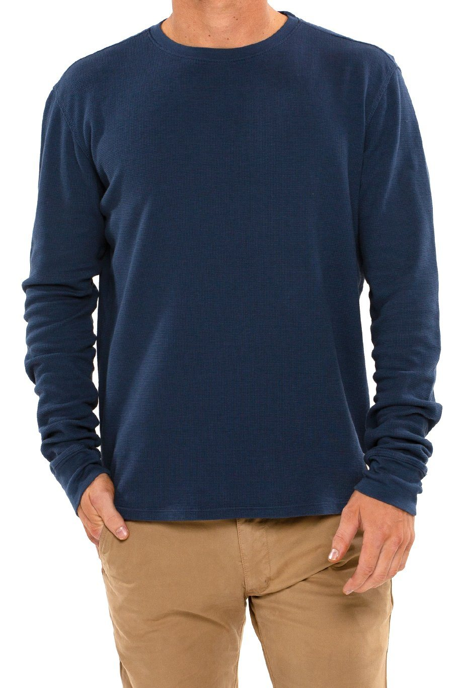 Thermal Long Sleeve Crew Tee - Jewel Blue - Shore