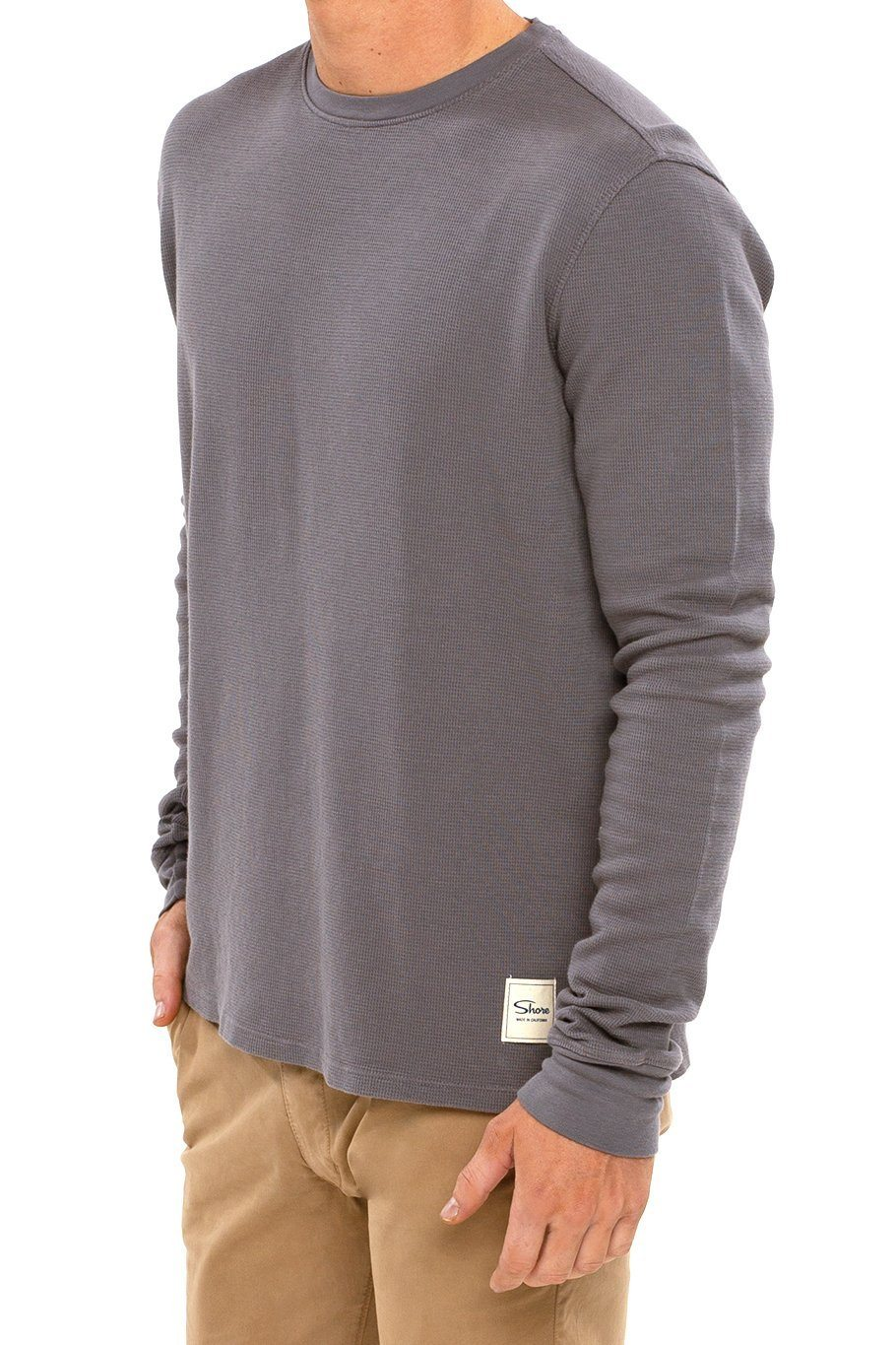 Thermal Long Sleeve Crew Tee - Castlerock - Shore