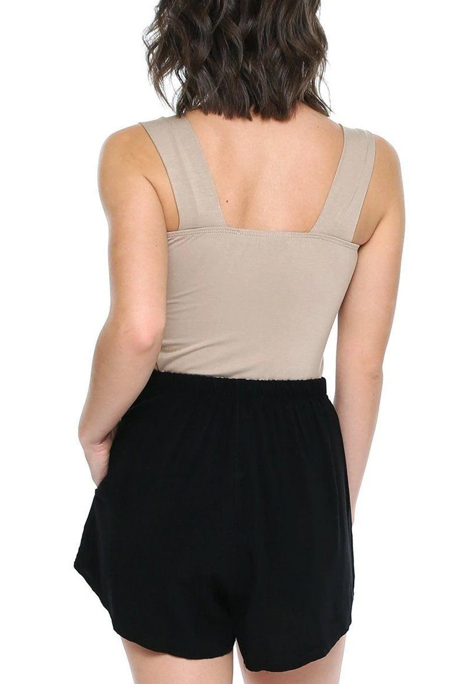 Thick Strap Tank - Sand