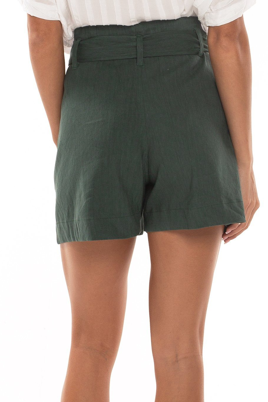 Trouser Short - Kelp