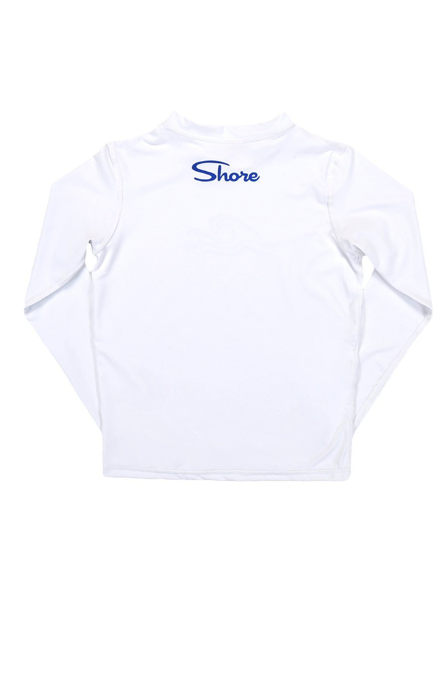 Kids Wave L/S Rashguard - White - Shore