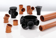 New UD 110mm PVC Pipe & Fittings