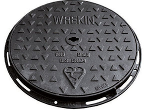 450mm diameter B125 Ductile Iron Cover & Frame