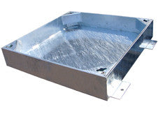300mm Square to Round Block Paviour Cover