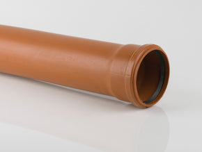 160mm Single Socket Pipe