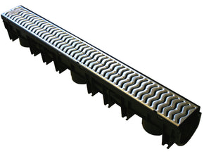 Light Duty Channel with Galvanised Grate