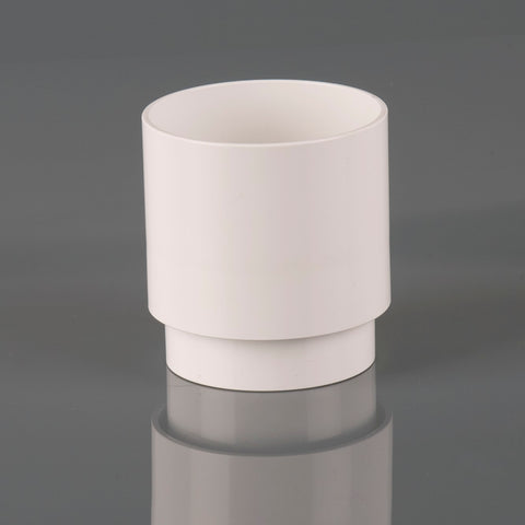 Downpipe Connector (68mm Round PVC)