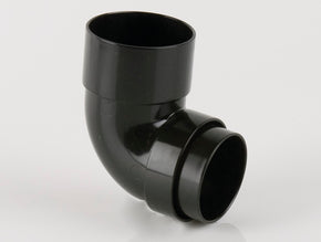 92½º Downpipe Bend (68mm Round PVC)