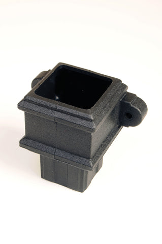 Downpipe Coupler with Lugs (65mm Cast Effect)