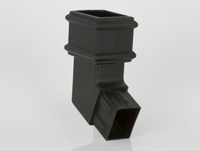 112½º Side Spigot Offset Bend (100 x 75mm Cast Effect)