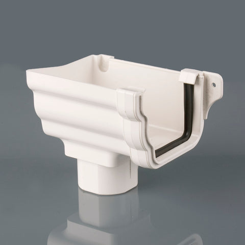 Left Hand Stopend Outlet (Prostyle PVC)