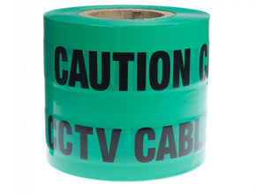 CCTV Marker Warning Tape