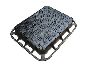 600mm x 450mm D400 Ductile Iron Cover & Frame