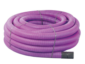 94/110mm  Coiled Purple Duct x 50m