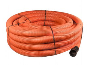 94/110mm Coiled Orange Duct x 50m