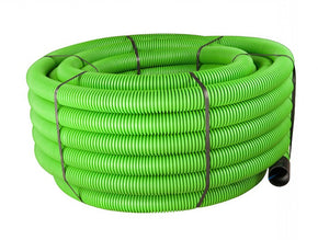 50/63mm Coiled Green Duct x 50m