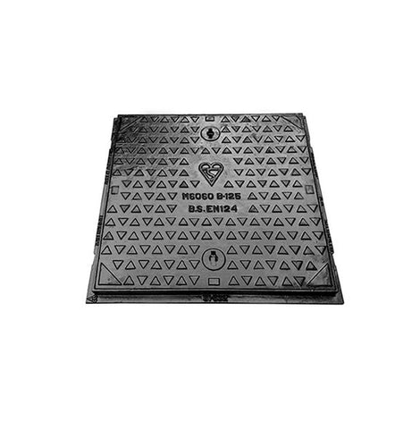 600mm x 600mm B125 Ductile Iron Cover & Frame