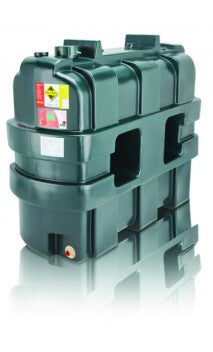 1150 Litre Single Skin Oil Tank - Slimline