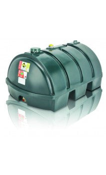 1225 Litre Single Skin Oil Tank - Low Profile