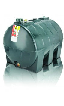 1300 Litre Single Skin Oil Tank - Horizontal