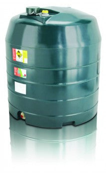 1360 Litre Single Skin Oil Tank - Vertical
