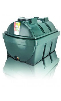 1900 Litre Bunded Oil Tank - Horizontal