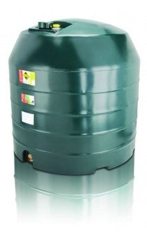 2500 Litre Single Skin Oil Tank - Vertical